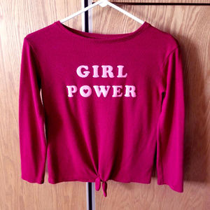 Cat & Jack Girl Power shirt